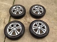 """Vauxhall 15"""" alloy wheels grey"""