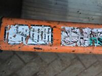 Ladders - Steel Construction- Heavy Duty 4mtrs