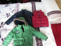 Boys jackets 2.5 - 4years old