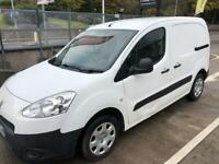 Peugeot partner 625 profession L1 1.6 hdi manual 3 seats 84000 miles 64reg
