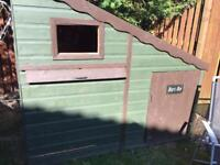 Kids garden playhouse or den