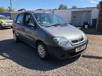 EXTREMELY LOW MILES CHEAP CAR! 2000 reg Renault megane scenic 1.4 petrol