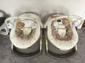 Mothercare Loved So Much Bouncer/Chairs x 2