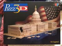 3D puzzle of US Capitol Building