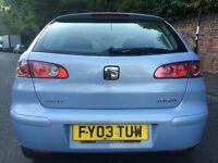 2003 SEAT IBIZA 1.4CC PART EXCHANGE VEHICLE £195