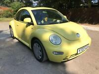 Volkswagen Beetle, 1.6 manual, MOT until end of Feb, drives lovely