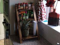Spice Rack Ladder Style
