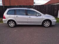 PEUGEOT 307 S 1.6 ESTATE MOT MARCH 2017 NEW TIMING BELT WITH RECEIPT