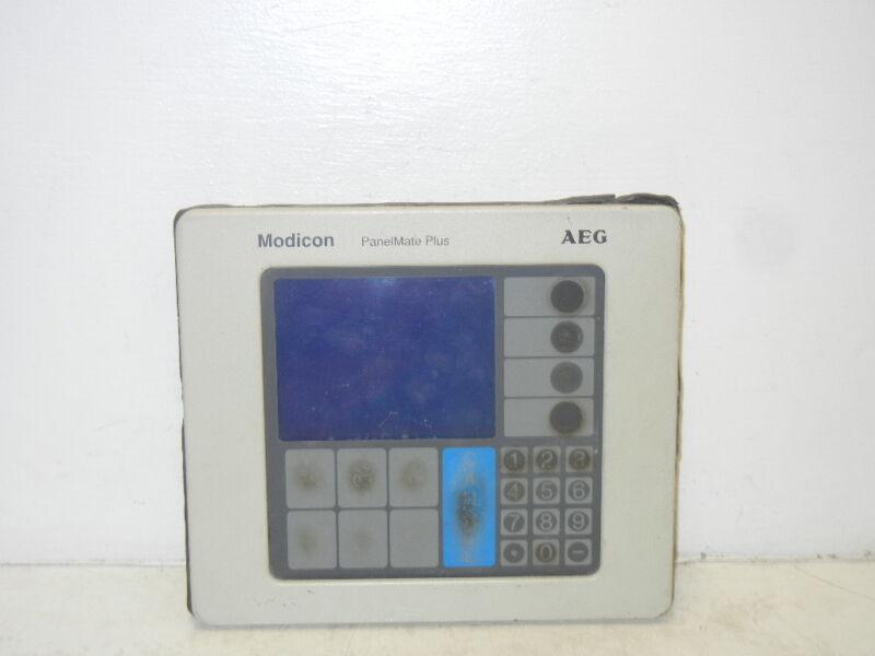 MODICON AEG 92-00757-02 USED MODEL MM-PM10-200 PANELMATE PLUS 920075702