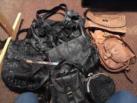 Bundle of ladies handbags