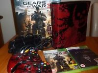 Xbox 360 limited edition Gears of war