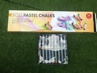 Soft chalk art pastels and artist pastels