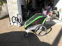 Cheetah Chariot double stroller