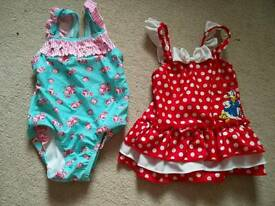 6-9 and 9-12 months swimming costumes