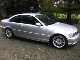 Lovely BMW 320 CD, ES, 6 Speed Diesel Coupe Cheap Trade in Welcome £1995