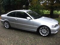 Lovely BMW 320 CD, ES, Diesel Coupe Cheap Trade in Welcome