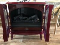 Dimples Opti myst Grand rouge electric fire