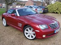 LOVELY 2003/53 CHRYSLER CROSSFIRE 3.2 V6(MERCEDES ENGINE)FULLY LOADED,HIDS,ELEC LEATHER,A/CON/CRUISE