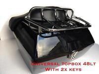 Universal motorcycle topbox