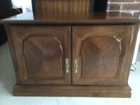 Wooden TV and Media Cabinet