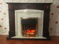 Year old fireplace & surround excelent condition