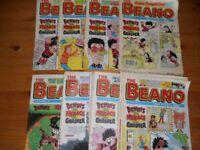 36 Beano Comics from 1995