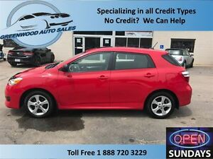2012 Toyota Matrix Cruise, Ac, Sunroof, Low KM!!!
