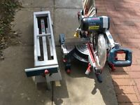 Chop Saw and table for sale