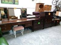 Stag furniture chests bedsides and dressing table