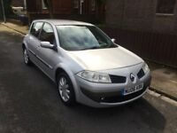2006 RENAULT MEGANE 1.6 DYNAMIQUE (12 MONTHS M.O.T) LOW MILEAGE (ABSOLUTE SPOTLESS CAR) LOVELY