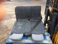 Vito seats rear seats