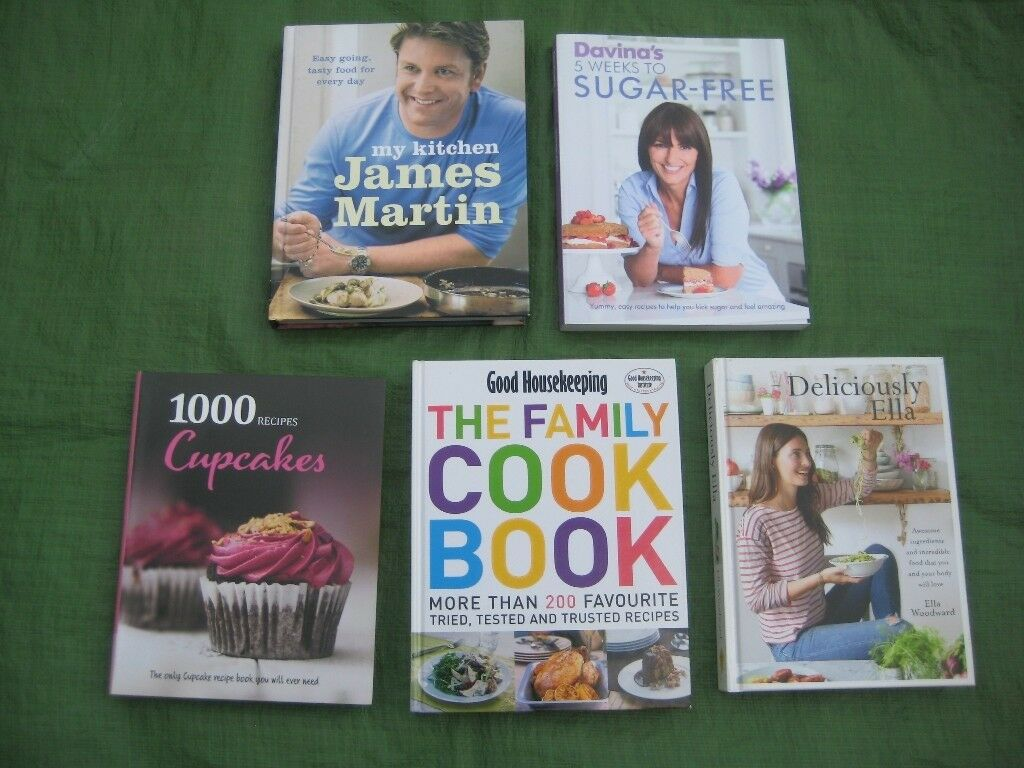 Three Up to Date Cookery Books in Full Colour for £5.00 Each