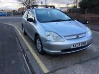 HONDA CIVIC 1.4 /1 YEAR MOT/1 PREVIOUS OWNER /£850