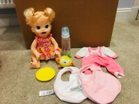 Baby Alive Doll & Accessories for sale  Milnthorpe, Cumbria