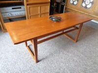 David Pye, Pye-Franklin Ltd. 1960's Teak Coffee Table
