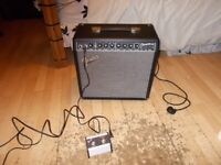 Fender Champion 40w with Foot Switch. ( Like brand new)