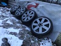 """Audi Volkswagen 5x100 18"""" Ronals"""