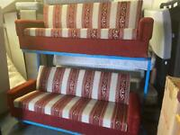 NICE AND CLEAN FABRIC SOFA SET WITH STORAGE 3+2 seater