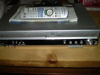 Panasonic DVD Recorder with VHS