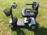 Tiempo Rapide suspension travel mobility scooter
