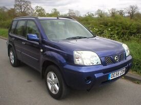 2007 NISSAN X-TRAIL WITH LOW MILEAGE AND FULL SERVICE HISTORY, FANTASTIC CONDITION AND GREAT DRIVE