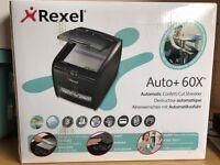 Paper shredder - Rexel Auto+ 60 x