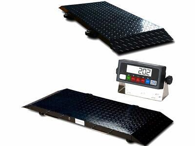 Multi Purpose Portable Floor Scale To Weigh Drumvetlivestock 2000 X .2 Lb