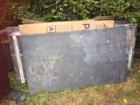 Natural slab of slate