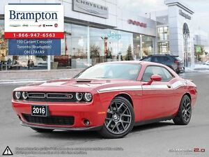 2016 Dodge Challenger R/T   COMPANY DEMO     LEATHER   SUNROOF  