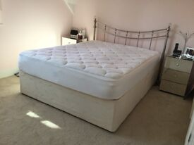 King size divan bed