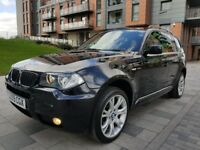 2009 BMW X3 2.0D M SPORT FULL BMW SRVICE HISTORY LEATHER SEATS PERFECT CONDITION DRIVE LIKE NEW