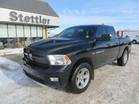 2012 RAM 1500 Sport 4X4 BACK UP CAMERA! NAVIGATION! LEATHER!