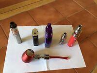 Ecig various and full kits.