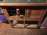 Rabbit or Guinea pig hutch. Double storey for sale or swap